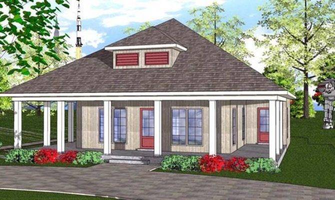 Cottage Florida Southern House Plan