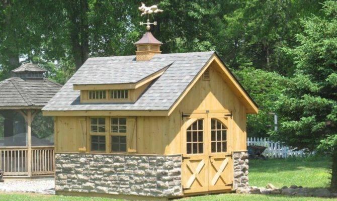 Cottage Hillside Structures