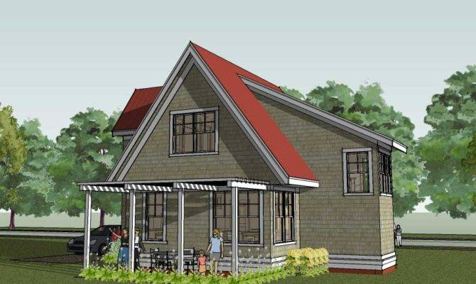 Cottage Home Plans Small House Cabin Homes