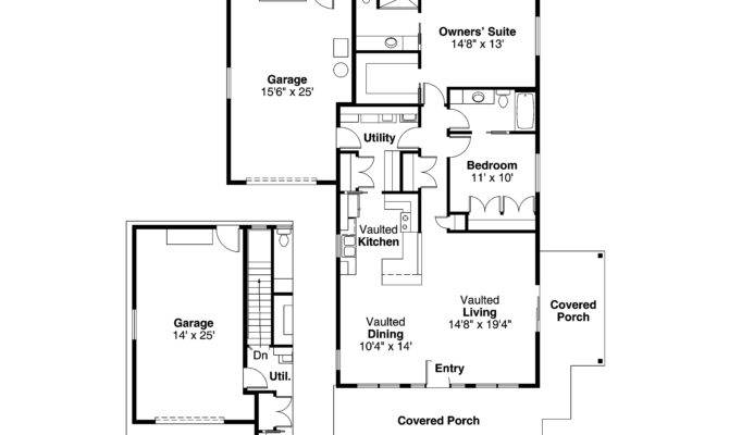 Cottage House Plan Branell Floor