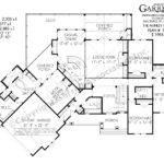 Cottage House Plan Floor Rustic Mountain Plans