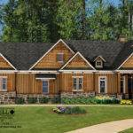 Cottage House Plan Front Elevation Craftsman Style Plans