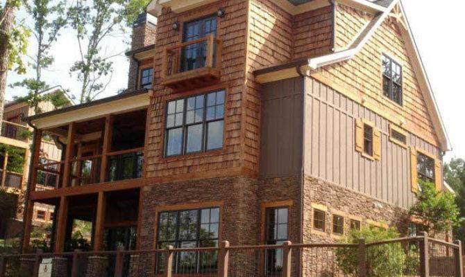 Cottage House Plan Porches Walkout Basement