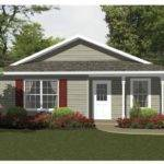 Cottage House Plan Two Bedroom Square Feet