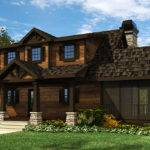 Cottage House Plan Wraparound Porch Max Fulbright