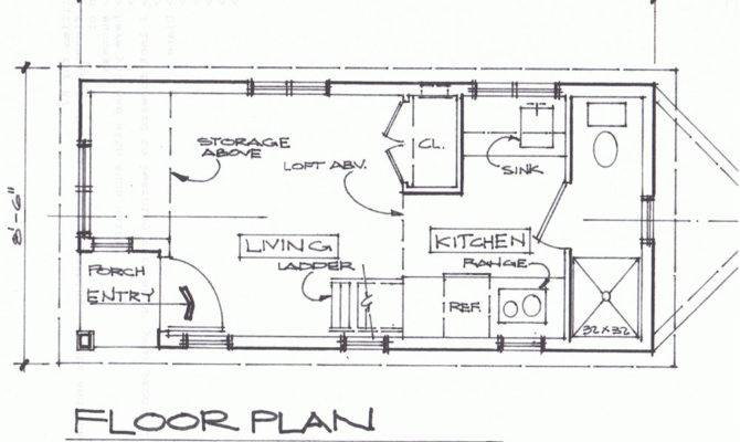 Cottage House Plans Cabins Tiny Houses Cottages Floors