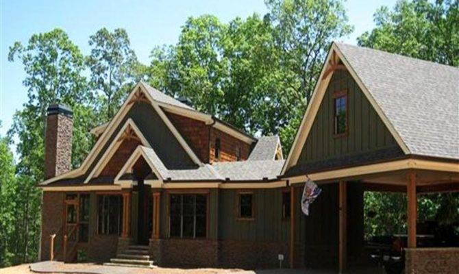 Cottage House Plans Garage