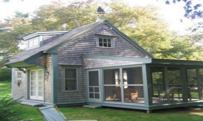 Cottage House Plans Porches Floor