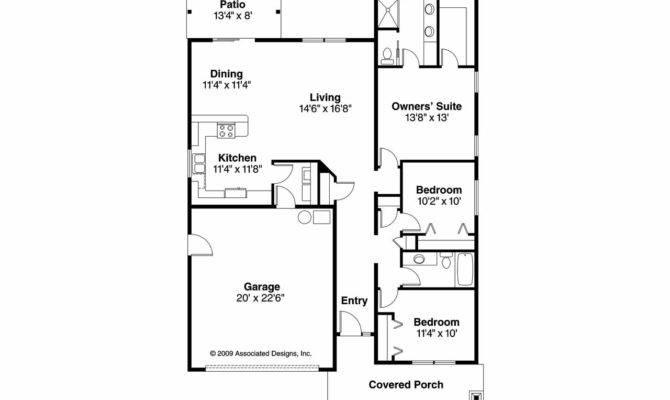 Cottage House Plans Preston Associated Designs