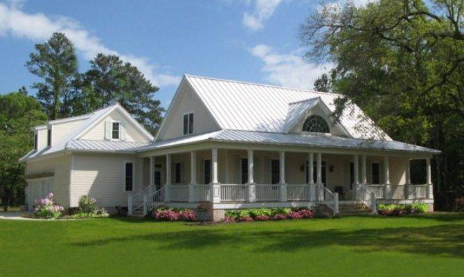 Cottage House Plans Wrap Around Porch Home Round