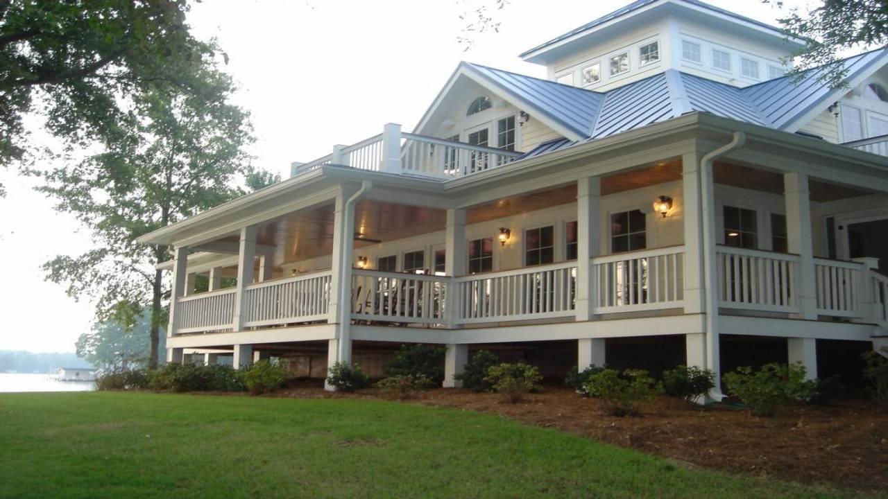Cottage House Plans Wrap Around Porch - House Plans   #116346