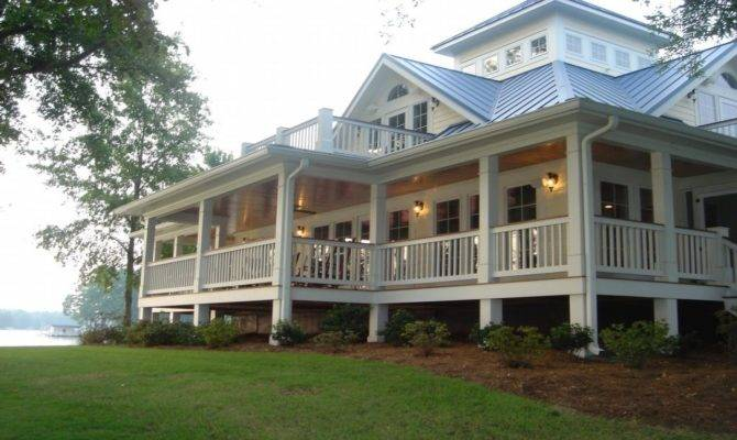 Cottage House Plans Wrap Around Porches French