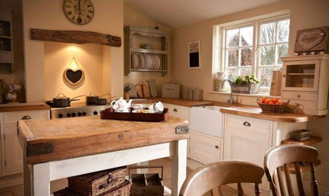 Cottage Kitchen Country English Style Pinterest