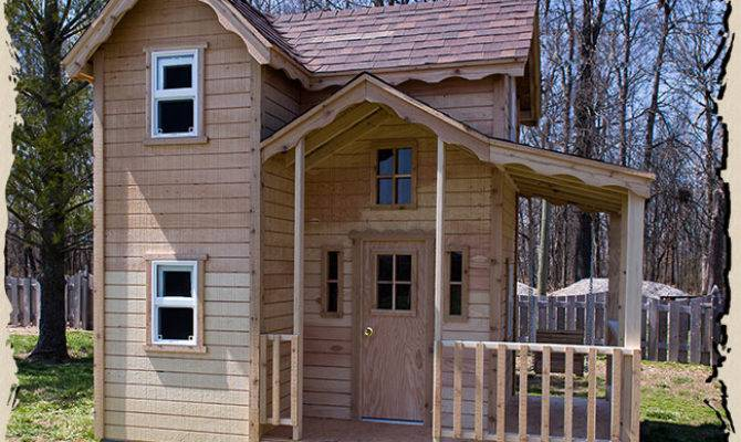 Cottage Playhouse Instructions Woodworktips