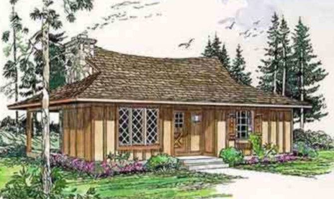 Cottage Style House Plan Beds Baths