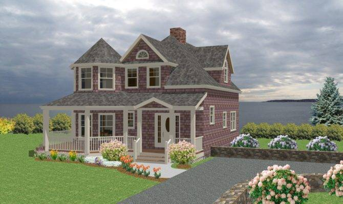 Cottage Traditional House Plan New England Country Cape Cod