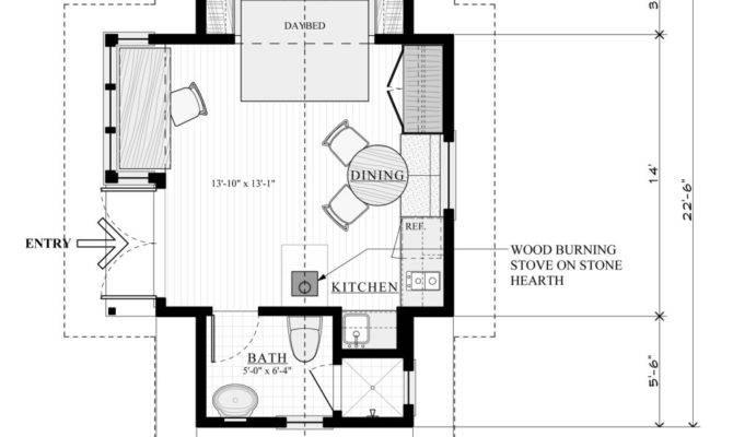 Cottages Floor Plans Best One Room Cabins Ideas Cottage