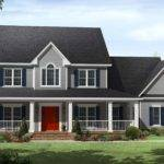 Country Beauty Wrap Around Porches Maverick Custom Homes