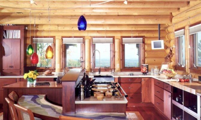 Country Cabin Kitchen Decor