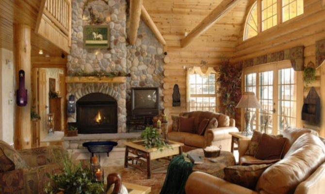 Country Cottage Bedroom Furniture Cabin Interior