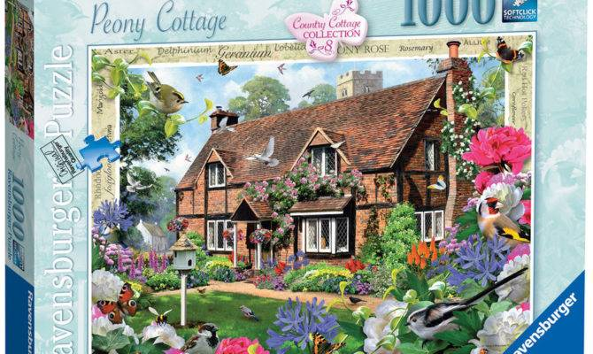 Country Cottage Collection Peony Piece