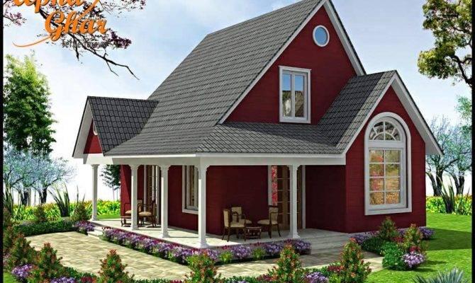 Country Cottage House Design Apnaghar
