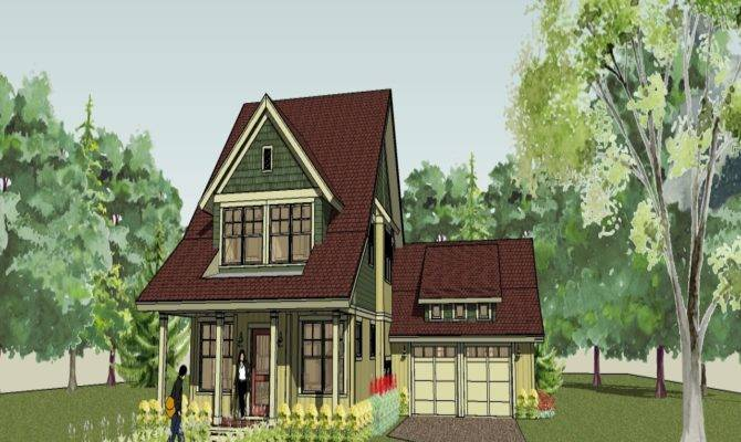 Country Cottage House Plans Bungalow