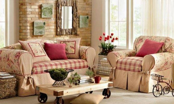 Country Cottage Living Rooms Style Doherty Room