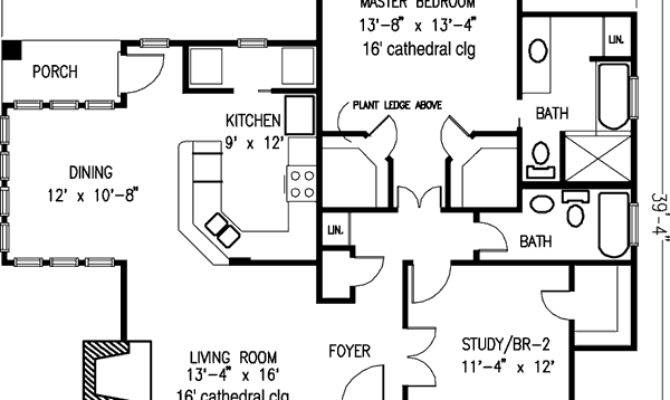 Country Craftsman Home Plan Guest Cottage