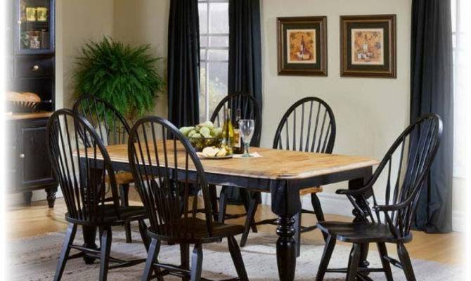 Country Dining Room Sets Home Plan Design Style