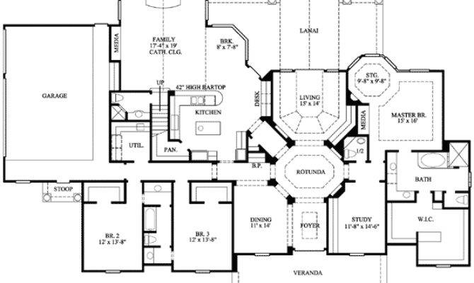 Country Estate Home Architectural Designs