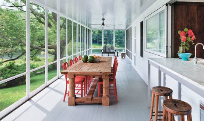 Country Farmhouse Goes Modern Connecticut Cottages