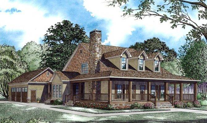 Country Farmhouse House Plan Here Details