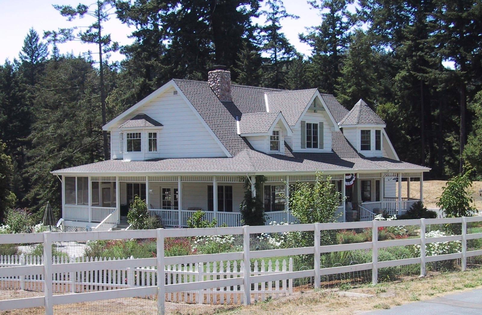 Country Farmhouse Plans Wrap Around Porch House Plans 110275