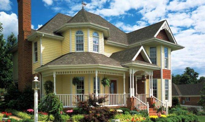 Country Farmhouse Victorian House Plan