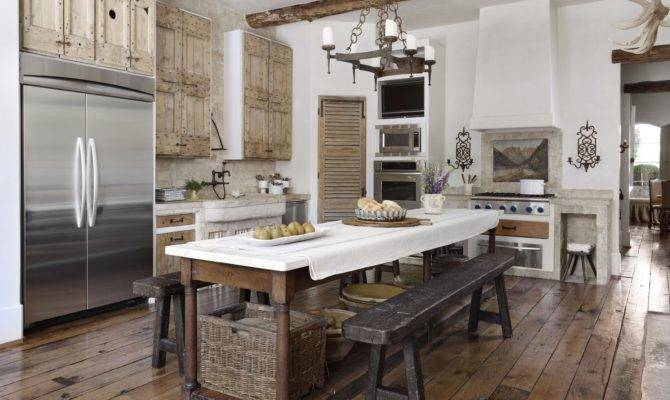 Country French Loggias Traditional Home