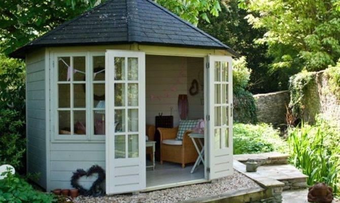 Country Garden Summerhouse Inspiration