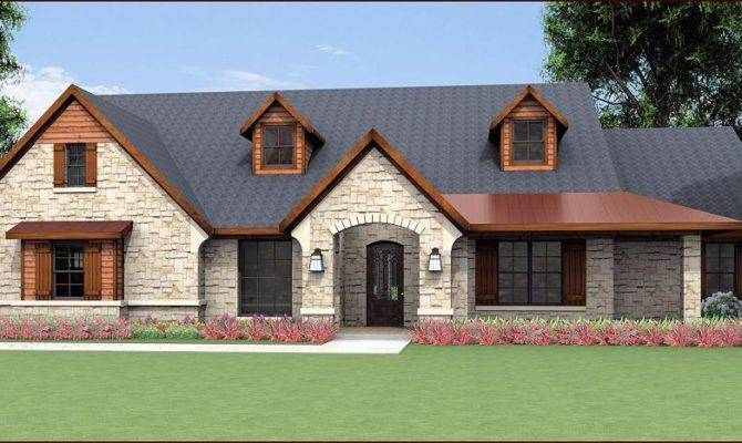 Country Home Design Texas House Plans Over