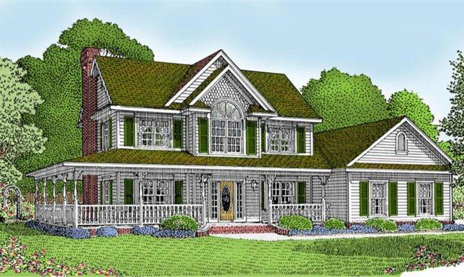 Country Home Designs Wrap Around Porch Imgkid