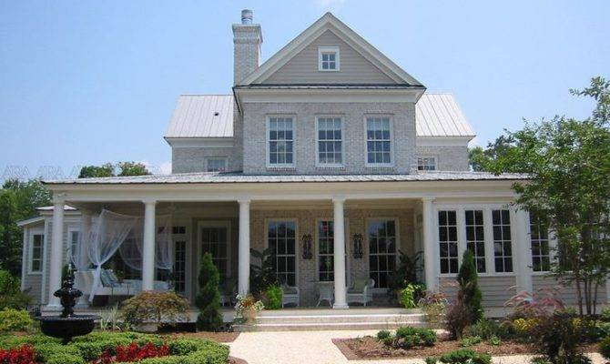 Country Home Front Porch One Day Pinterest
