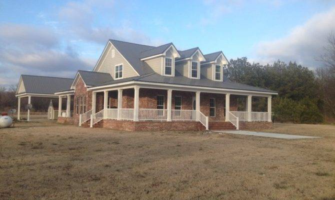 Country House Plan Built Mississippi Farmhouse