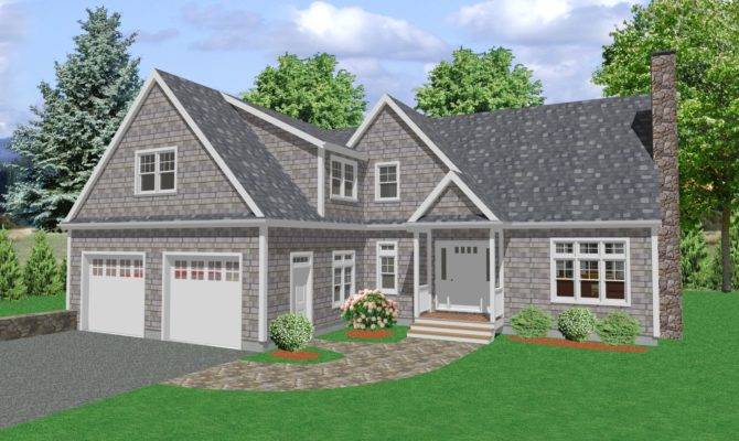 Country House Plan Cape Cod Plans