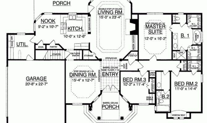 Country House Plan European Luxury Under Square