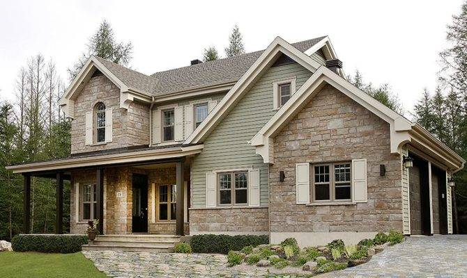 Country House Plan Love Exterior