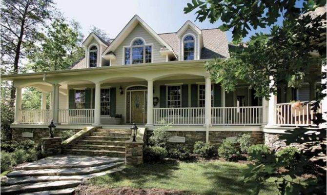 Country House Plan Square Feet Bedrooms Dream