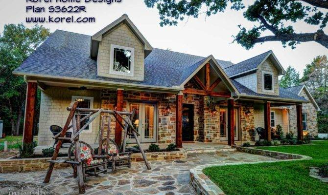 Country House Plan Texas Plans Over