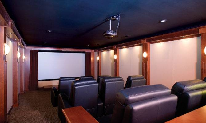 Country House Plan Theater Room Plans
