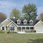Country House Plans Cape Cod New England Ranch