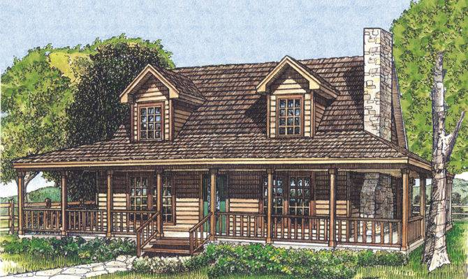 Country House Plans Rustic Ranch Southern Porches
