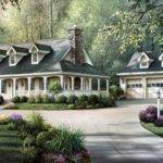 Country House Plans Wrap Around Porches